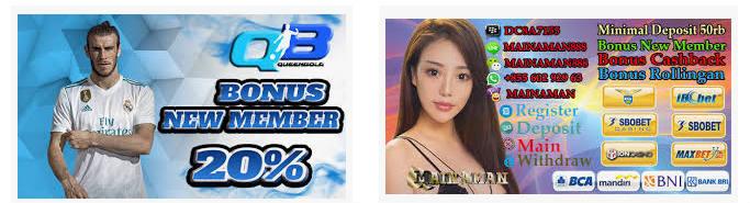 Bonus untuk member baru di situs agen resmi sbobet